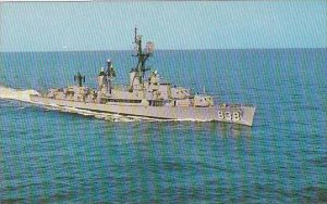 U S S ERNEST G SMALL DDR-838