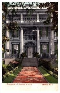 Rhode Island Bristol ,  Residence of Samuel P. Colt