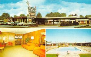 Dumas Arkansas Delta Lodge Restaurant Multiview Vintage Postcard K35442
