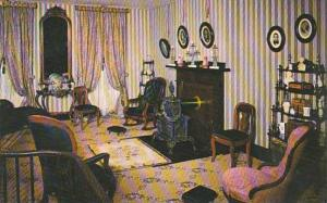 Illinois Springfield Double Parlor Abraham Lincolns Home