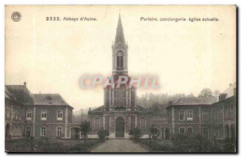 Belgie Belgium Abbaye d & # 39aulne Parlors concierge current church