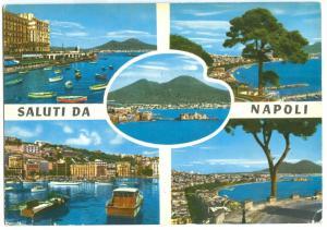 Italy, SALUTI DA NAPOLI, used Postcard