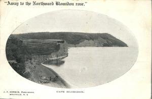 Cape Blomidon - NS Nova Scotia Canada - pm 1905