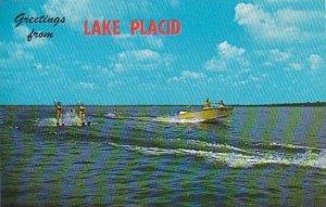 Florida Lake Placid Water Skiing On Beautiful Lake Placid