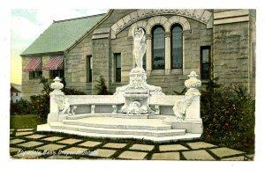 MA - Hopedale. Draper Fountain