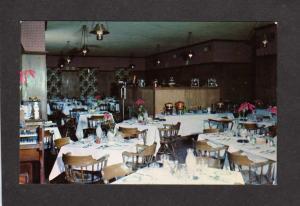 NC Mackenzie's Colonial Manor Restaurant, Weldon North Carolina Postcard