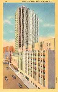 Linen of Radio City Music Hall New York City NY