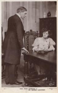 Irene Vanbrugh & George Alexander Actor Actress Rotary Real Photo Postcard