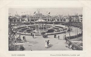 Franco-British Exhibition , London , 1908: Elite Gardens