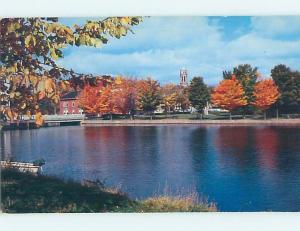 Pre-1980 WATER SCENE Adirondacks - Saranac Lake New York NY hk2462