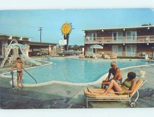 Unused Pre-1980 MOTEL SCENE Winchester Virginia VA G7094