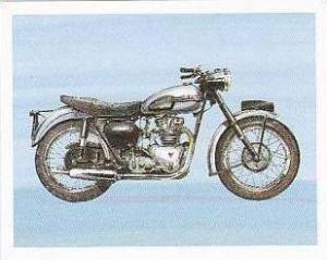 Newmarket Hardware Vintage Trade Card Britains Finest Bikes 1993 No 22 Triump...