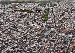 Aerial View Rossio and Avenue of Liberdade Lisboa Portugal