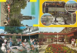 Rotterdam Shopping Centre incl Utrecht 4x Holland Postcard s