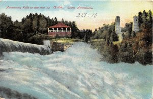 br105727 montmorency falls quebec canada  quebec