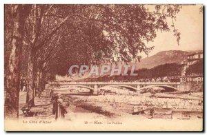Old Postcard The Nice Paillon