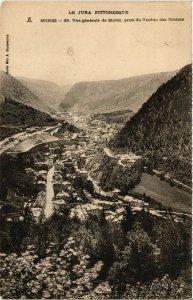 CPA MOREZ Vue générale prise du Viaduc des Grottes (447120)