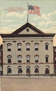 Ford's Theatre, where Lincoln was shot, Washington, D.C,  00-10s