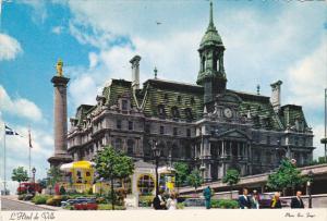 Canada L'Hotel de Ville City Hall Montreal