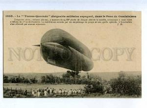 205569 FRANCE AVIATION airship dirigible TORRES QUEVEDO #1055