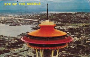 Washington Seattle Eye Of The Space Needle 1962