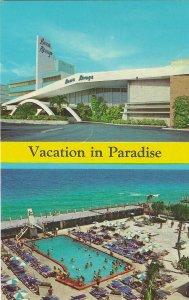 1960's Beau Rivage Resort, Miami Beach, Florida Chrome Postcard