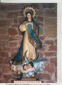 Postal 009793: Virgen La Inmaculada Concepcion, Alcazar de San Juan en C.Real