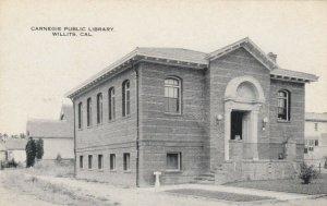 WILLITIS , California, 1900-10s ; Carnegie Library