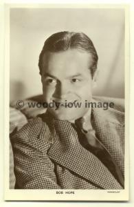b0838 - Film Actor, Comedian , Singer - Bob Hope - Picturegoer postcard no 1326