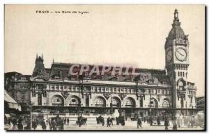Paris - 12 - Gare de Lyon - Old Postcard