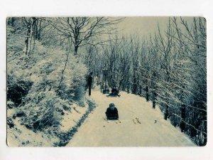 3079841 Driving on sledge Vintage PC