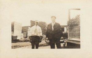 RP: MORRISVILLE , Vermont, 1900-10s ; Lumber Yard