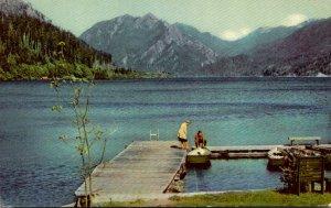 Washington Olympic National Park Crescent Lake