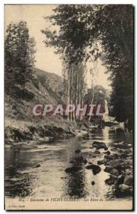 Old Postcard Vichy Cusset The surroundings of Rives Sichon