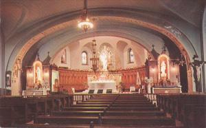 Interior of the Crypt Church, Saint Joseph's Oratory of Mount Royal, Montreal...