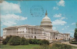 Washington DC, United Sates Capitol, 1962 used Postcard