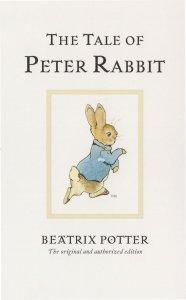 The Tale Of Peter Rabbit Beatrix Potter Book Postcard