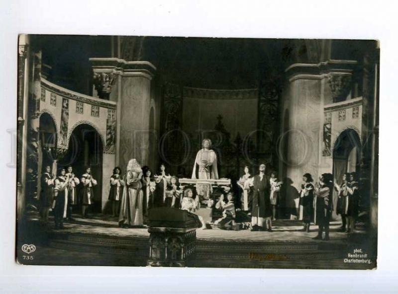 235229 WAGNER Parsifal OPERA Stage SINGERS Vintage PHOTO PC
