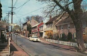NEW HOPE, Pennsylvania, 40-60s; Mechanic Street