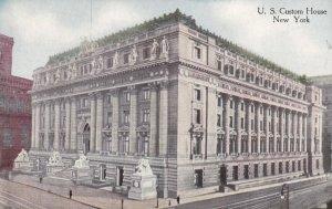 NEW YORK, 1900-1910's; U.S. Custom House