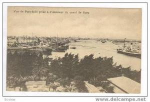 Oceanliners waiting at Port Said, Egypt, 00-10s