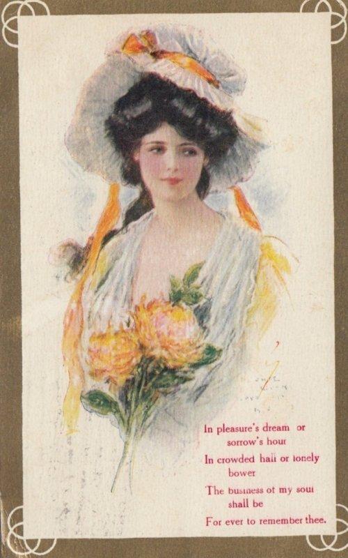 Female Head portrait , 1909