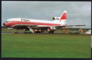 Pacific Southwest Airlines Lockheed L-1011 Chrome 1950s-1970s