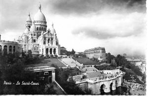 France - Paris, Sacred Heart Cathedral  *RPPC