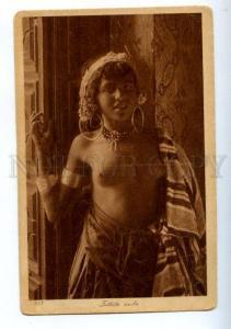 173804 ARABIAN semi-nude girl belly dancer Lehnert & Landrock