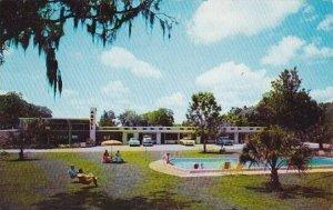 Florida Crystal River Crystal Lodge Motel With Pool 1984