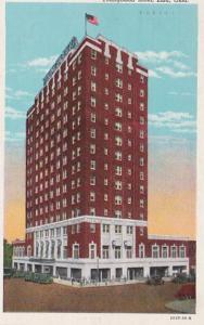 Oklahoma Enid Youngblood Hotel 1952 Curteich