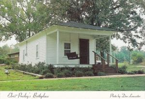 Elvis Presley's Birthplace House In Tupelo Mississippi