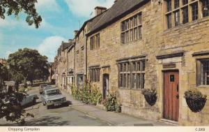 Rusty Cars at Chipping Campden 1970s Postcard