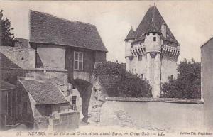 La Porte Du Croux Et Son Avant Porte, Croux Gate, Nevers (Nievre), France, 19...